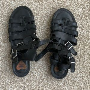 Black RocketDog sandals